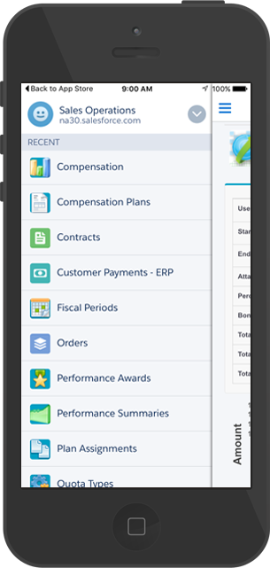 CloudComp Commission Anything App for Salesforce Mobile